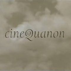 cinequanon opening logo